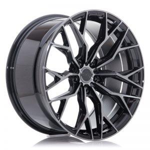 Concaver CVR1 22x10 ET20-64 BLANK Double Tinted Black