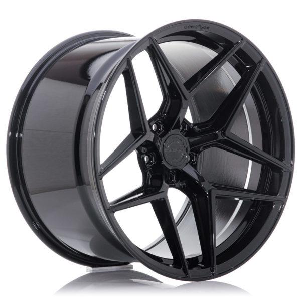 Concaver CVR2 20x10 ET20-48 BLANK Platinum Black