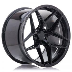 Concaver CVR2 20x11 ET0-30 BLANK Platinum Black