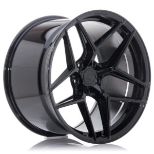Concaver CVR2 20x9,5 ET22-40 BLANK Platinum Black