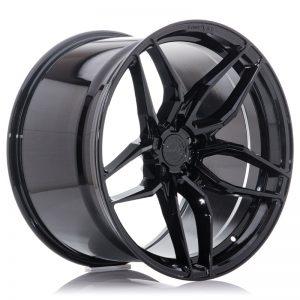 Concaver CVR3 20x10 ET20-48 BLANK Platinum Black
