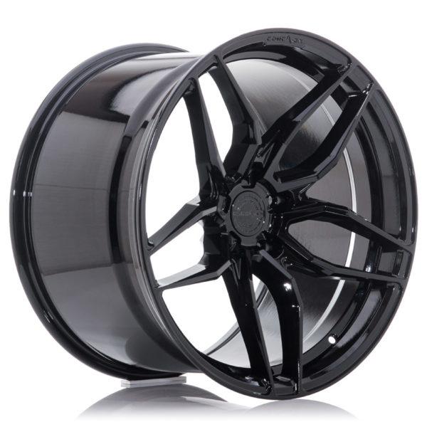 Concaver CVR3 22x11 ET11-52 BLANK Platinum Black