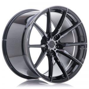 Concaver CVR4 22x10 ET20-64 BLANK Double Tinted Black
