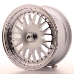 JR Wheels JR10 15x7 ET30 BLANK Silver Machined Face