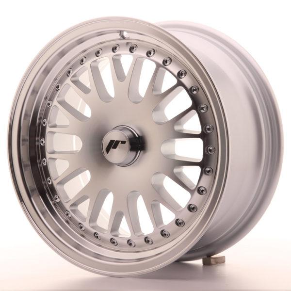 JR Wheels JR10 15x7 ET30 BLANK Silver Machined Face