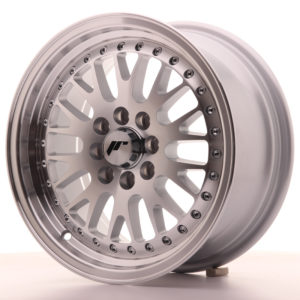 JR Wheels JR10 15x7 ET30 4x100/108 Silver Machined Face