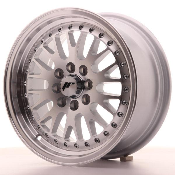 JR Wheels JR10 15x7 ET30 4x100/108 Silver Machined Face