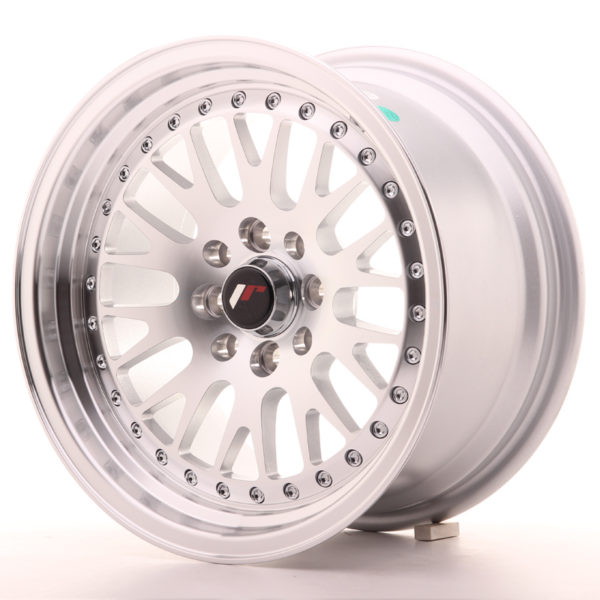JR Wheels JR10 15x8 ET20 4x100/108 Silver Machined Face