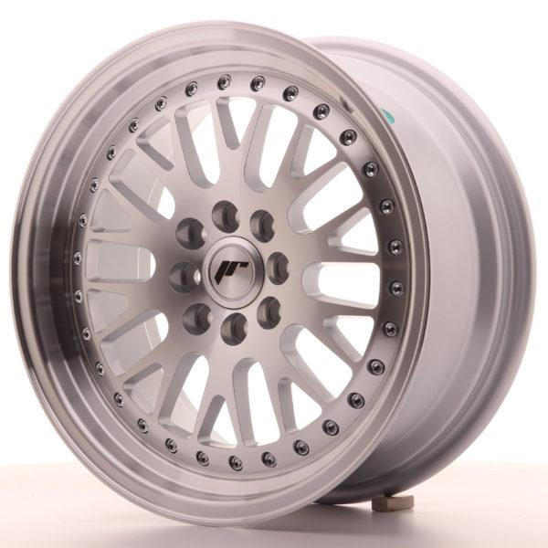 JR Wheels JR10 16x7 ET30 4x100/108 Silver Machined Face