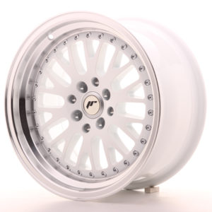 JR Wheels JR10 16x8 ET10 4x100/114 White w/Machined Lip