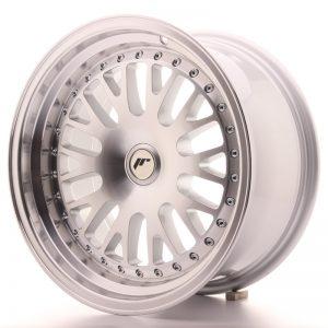 JR Wheels JR10 16x8 ET20 BLANK Silver Machined Face