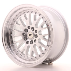 JR Wheels JR10 16x8 ET20 4x100/108 Silver Machined Face