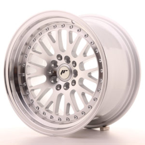 JR Wheels JR10 16x9 ET20 4x100/108 Silver Machined Face