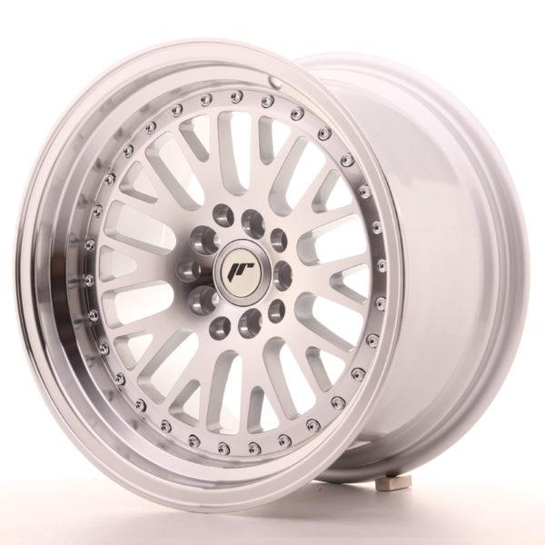 JR Wheels JR10 16x9 ET20 4x100/108 Silver Machined Face