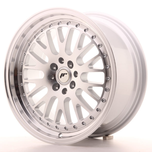JR Wheels JR10 17x8 ET35 5x100/114 Silver Machined Face