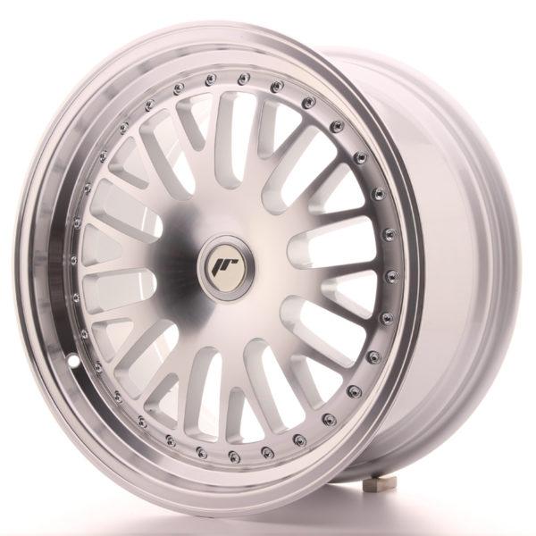 JR Wheels JR10 17x8 ET35 BLANK Silver Machined Face