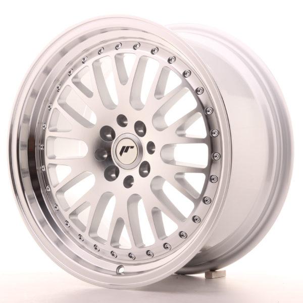 JR Wheels JR10 17x8 ET20 4x100/108 Silver Machined Face
