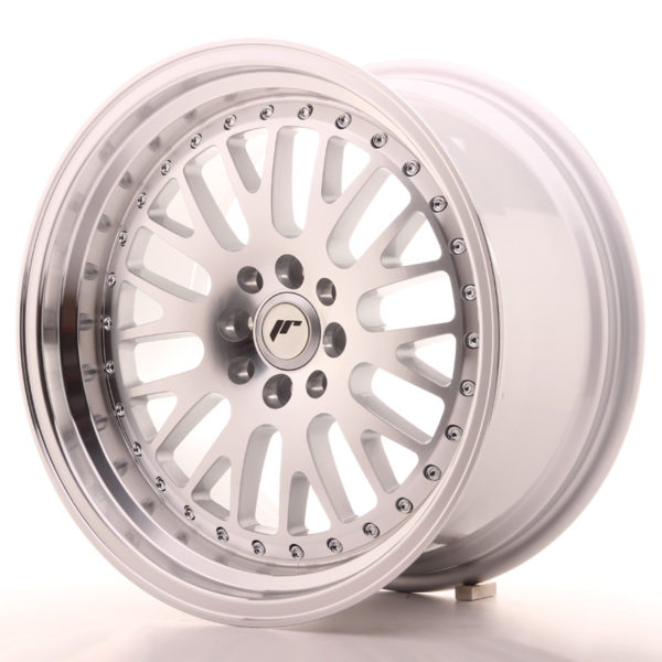JR Wheels JR10 17x9 ET20 5x100/114 Silver Machined Face