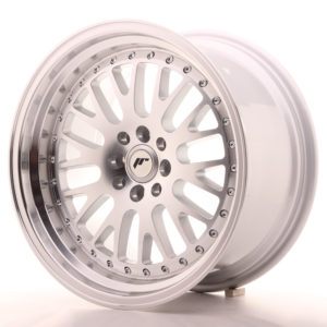 JR Wheels JR10 17x9 ET25 5x100/114 Silver Machined Face