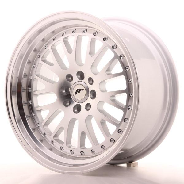 JR Wheels JR10 17x9 ET30 5x100/114 Silver Machined Face