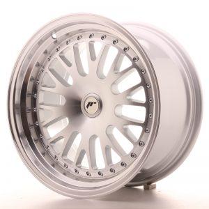JR Wheels JR10 17x9 ET25-30 BLANK Silver Machined Face