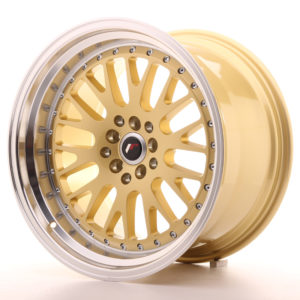 JR Wheels JR10 18x10,5 ET25 5x112/114,3 Gold w/Machined Lip