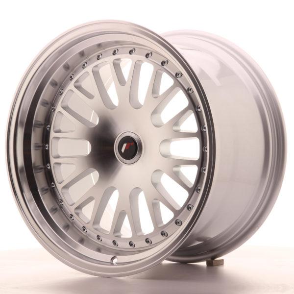 JR Wheels JR10 18x10,5 ET12-25 BLANK Silver Machined Face