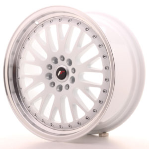 JR Wheels JR10 18x8,5 ET45 5x112/114 White w/Machined Lip