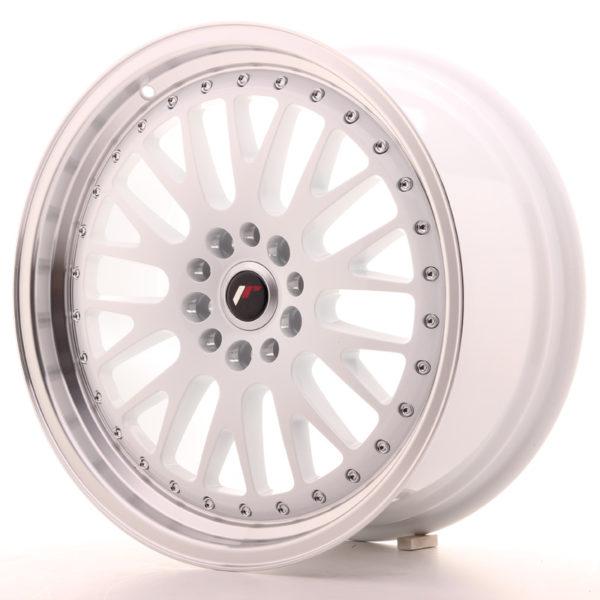 JR Wheels JR10 18x8,5 ET45 5x112/114 White w/Machined Lip