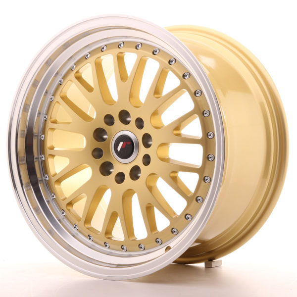 JR Wheels JR10 18x9,5 ET18 5x114/120 Gold w/Machined Lip