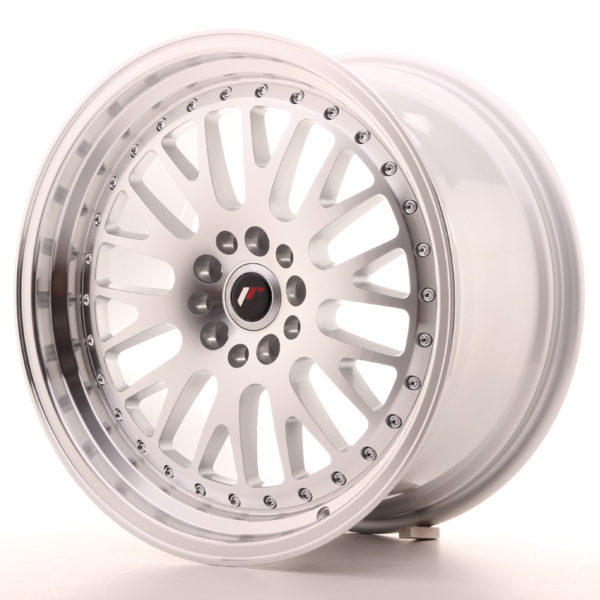 JR Wheels JR10 18x9,5 ET18 5x100/112 Silver Machined Face
