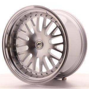 JR Wheels JR10 19x11 ET15-30 BLANK Silver Machined Face