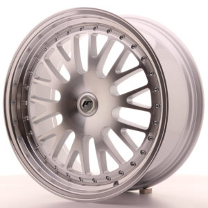 JR Wheels JR10 19x8,5 ET20-35 BLANK Silver Machined Face