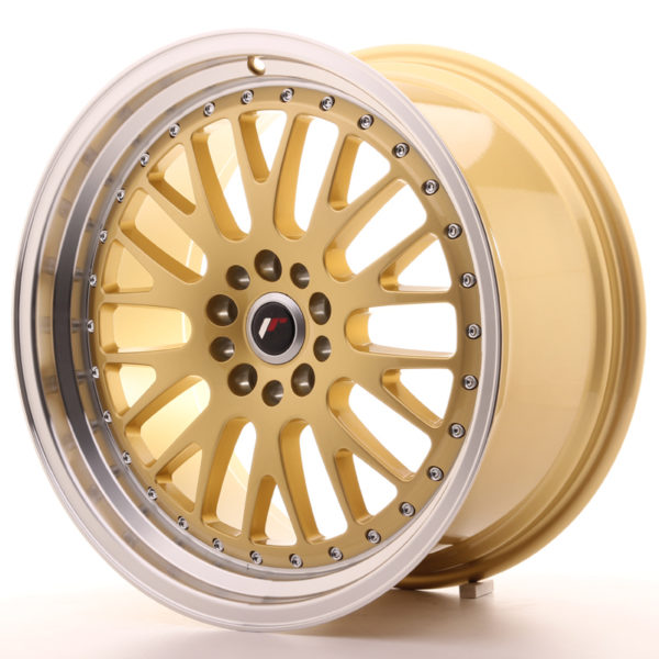 JR Wheels JR10 19x9,5 ET35 5x112/114 Gold w/Machined Lip
