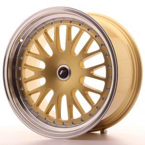 JR Wheels JR10 19x9,5 ET20-35 BLANK Gold w/Machined Lip