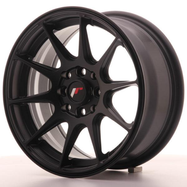 JR Wheels JR11 15x7 ET30 4x100/114 Flat Black