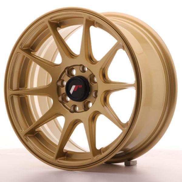 JR Wheels JR11 15x7 ET30 4x100/108 Gold