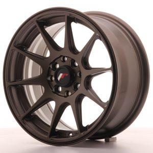 JR Wheels JR11 15x7 ET30 4x100/108 Matt Bronze