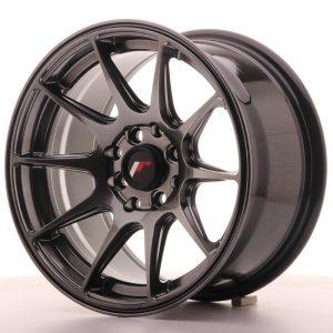 JR Wheels JR11 15x8 ET25 4x100/114 Dark Hyper Black