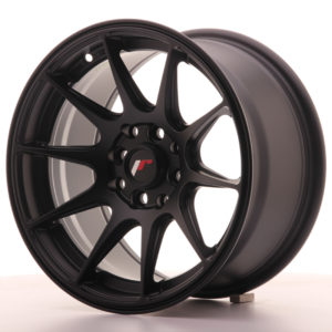 JR Wheels JR11 15x8 ET25 4x100/114 Flat Black