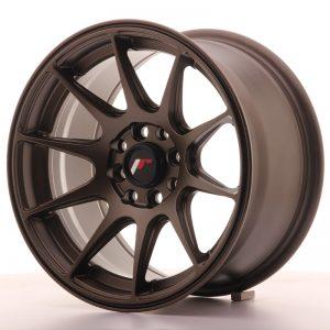 JR Wheels JR11 15x8 ET25 4x100/114 Matt Bronze