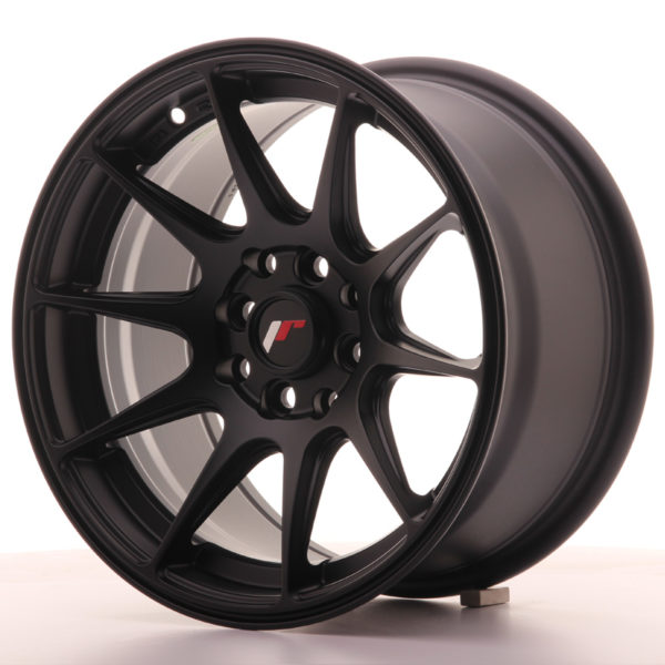 JR Wheels JR11 15x8 ET25 4x100/108 Flat Black