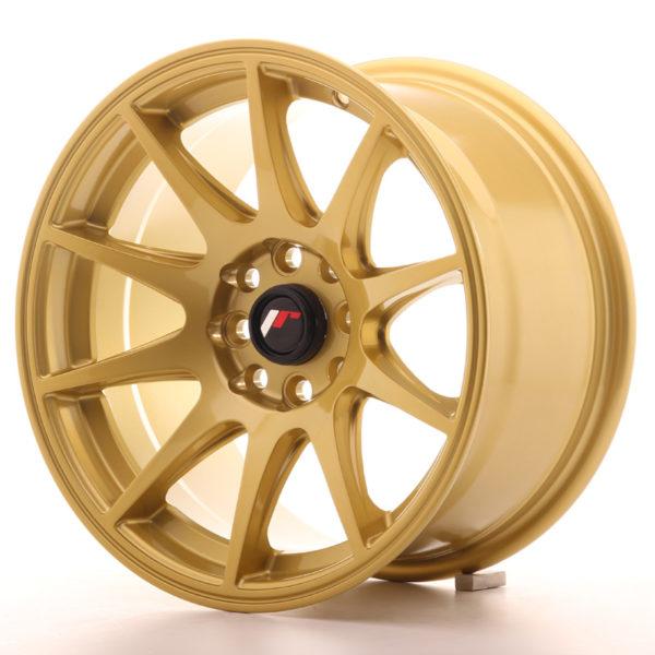 JR Wheels JR11 15x8 ET25 4x100/108 Gold