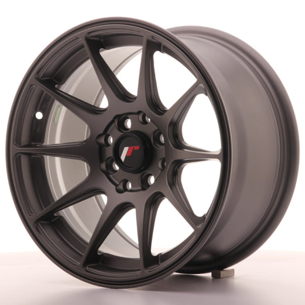 JR Wheels JR11 15x8 ET25 4x100/108 Matt Gun Metal