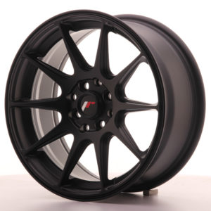 JR Wheels JR11 16x7 ET30 4x100/114 Flat Black