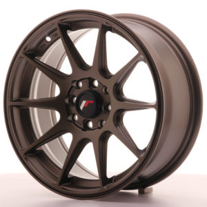 JR Wheels JR11 16x7 ET30 4x100/114 Matt Bronze