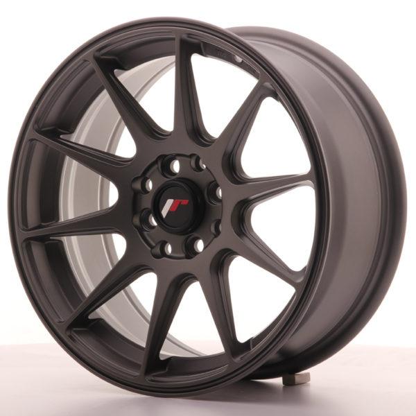 JR Wheels JR11 16x7 ET30 4x100/114 Matt Gun Metal