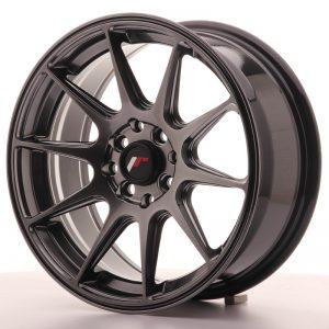 JR Wheels JR11 16x7 ET25 4x100/108 Dark Hyper Black