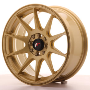 JR Wheels JR11 16x7 ET25 4x100/108 Gold