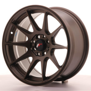 JR Wheels JR11 16x8 ET25 4x100/114 Matt Bronze